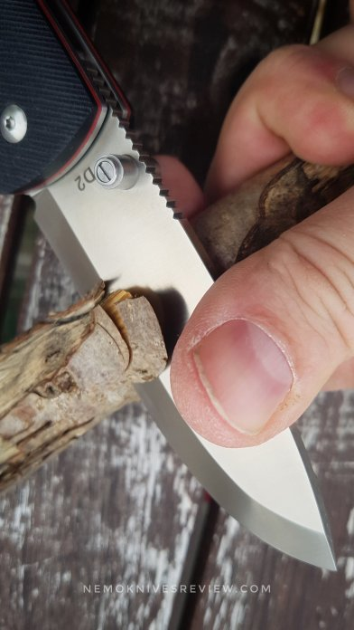 RealSteel Knives Bushcraft Folder – Beefy Folding Tool